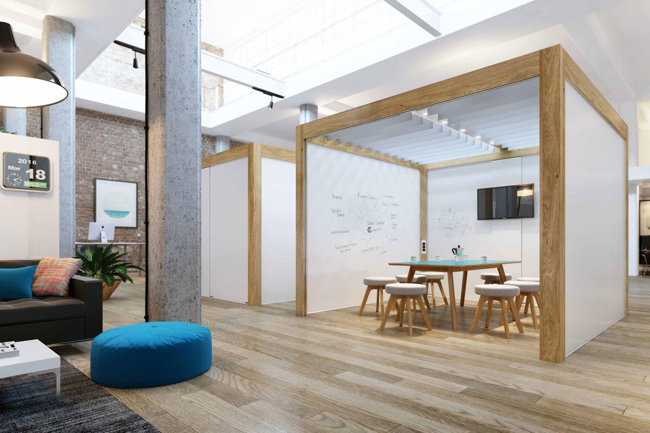 Durchdachtes Designkonzept Für Die Kreative Raumgestaltung